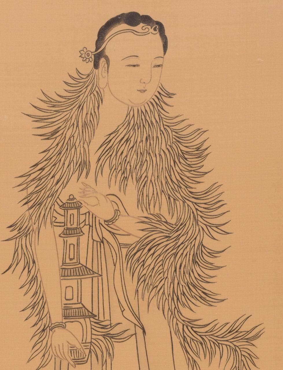 The Guiding Lantern (detail)
