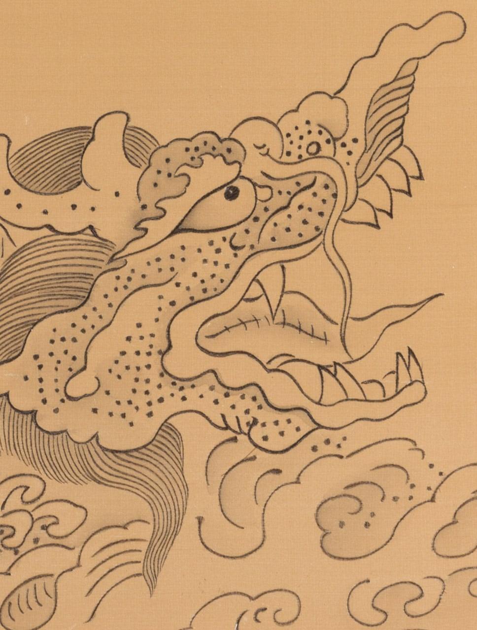Riding the Dragon (detail)