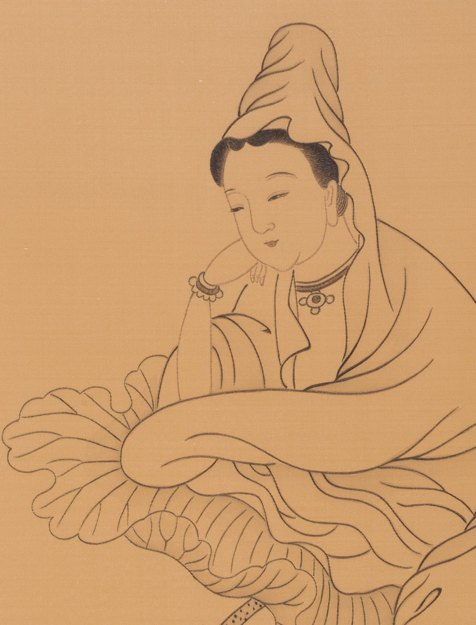 Atop the Lotus (detail)