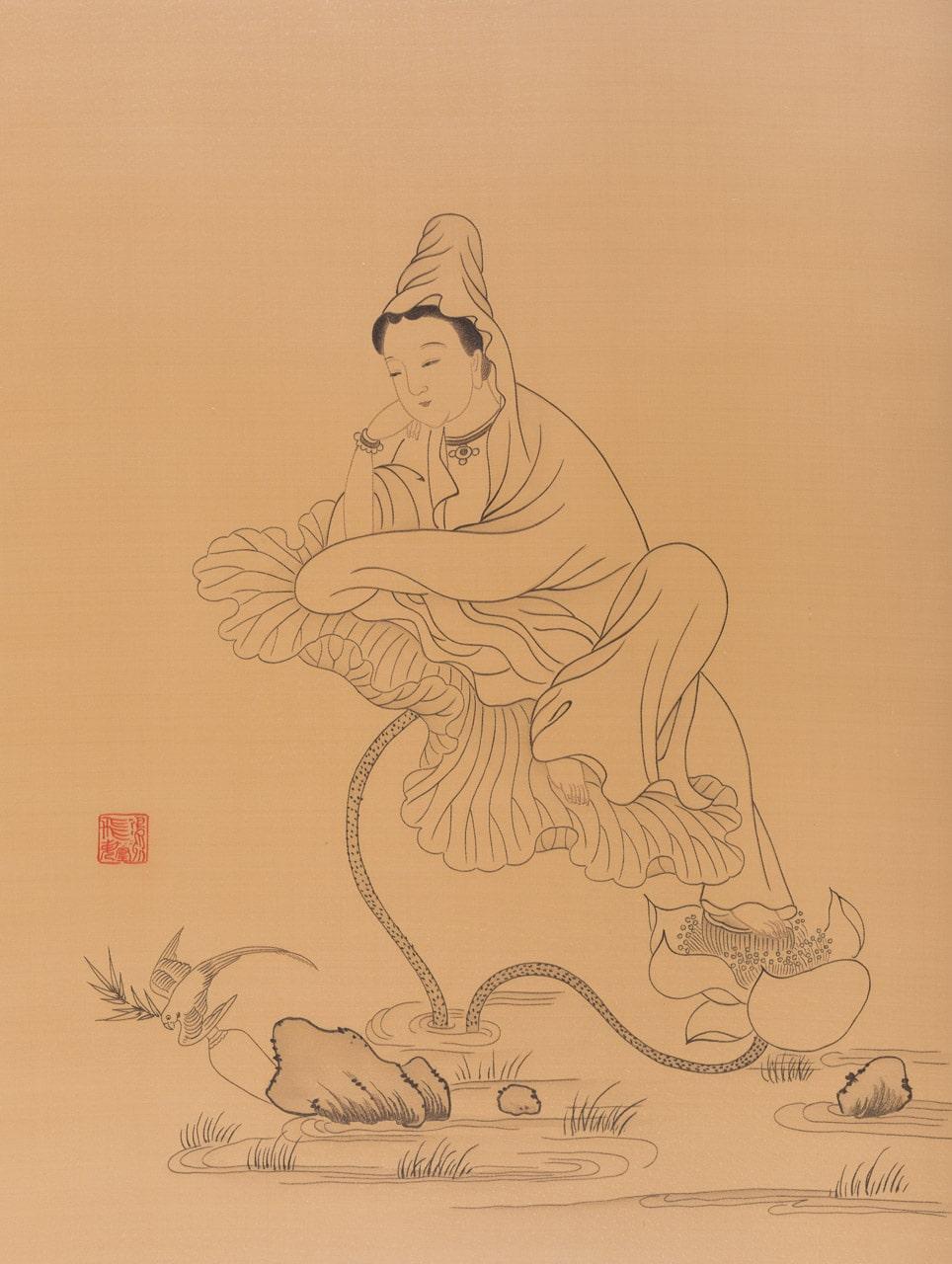 Atop the Lotus