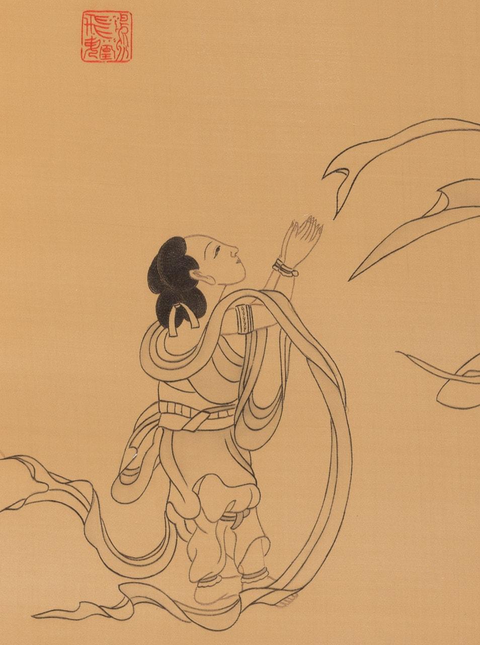 Paying Homage to Guanyin (detail)