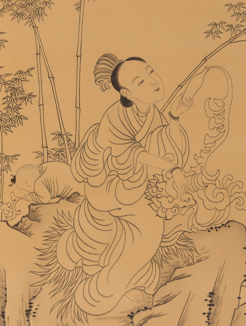 Offering Nectar (detail)