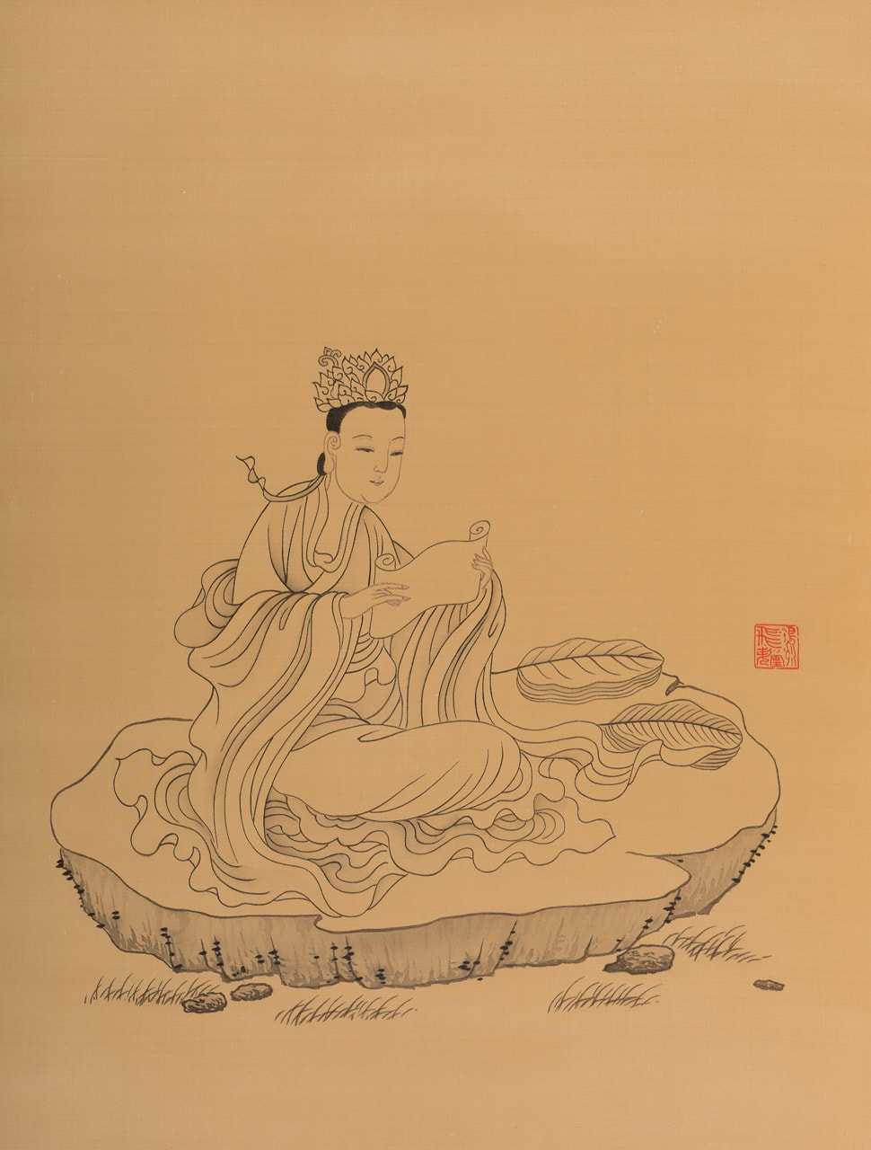 Chanting Sutras