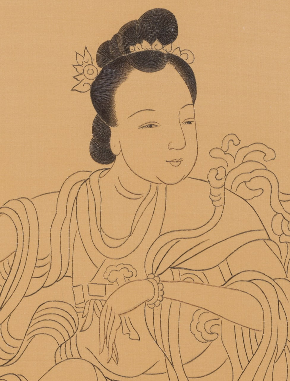 Guanyin the Protector (detail)