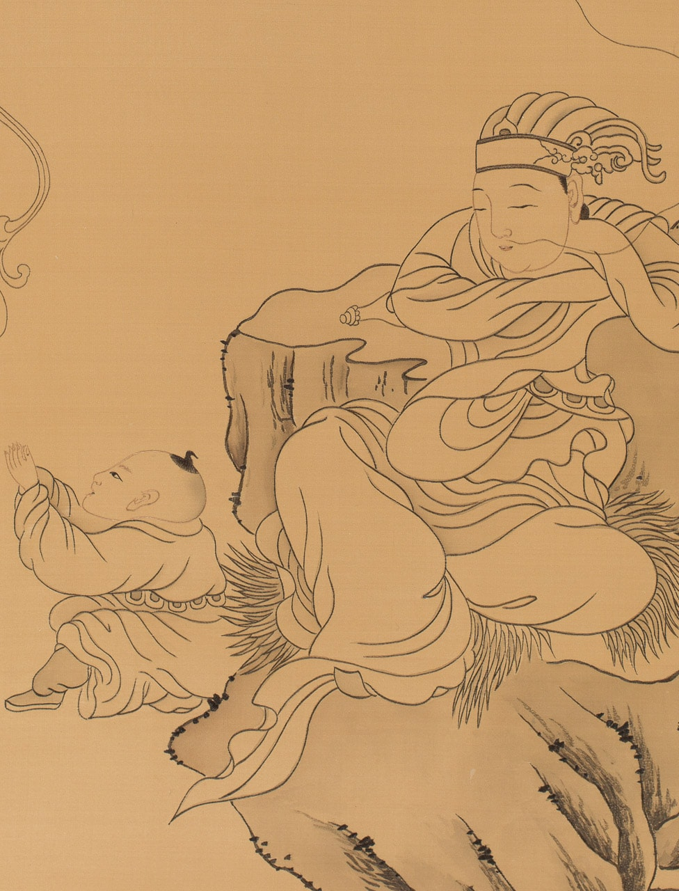 Dreaming of Guanyin (detail)